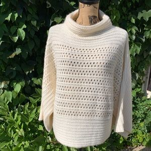 NWT JOSEPH A Kimono-Sleeve Sweater, L